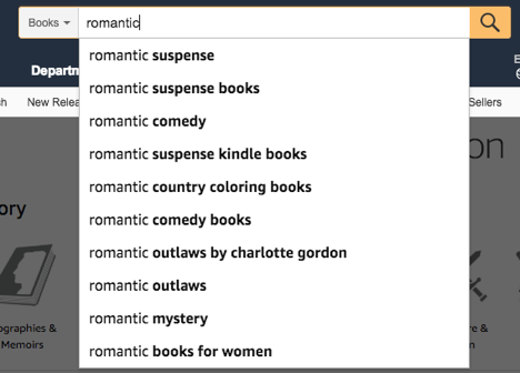 keyword phrases on Amazon